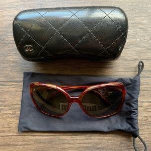 Women's Tortoise Shell Chanel Sunglasses Polarized